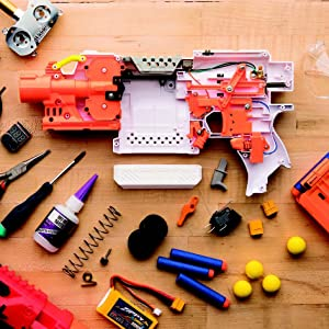 The Nerf Blaster Modification Guide: The Unofficial Handbook for