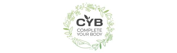 CYB Complete Your Body - Complejo de vitamina B, 180 pastillas