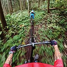 GoPro Hero 7 black mountain biking