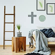 ladder and cross