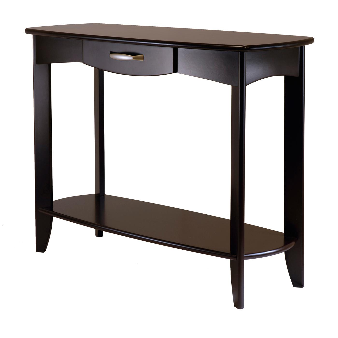 Amazoncom Winsome Wood Danica Console Table Kitchen Dining