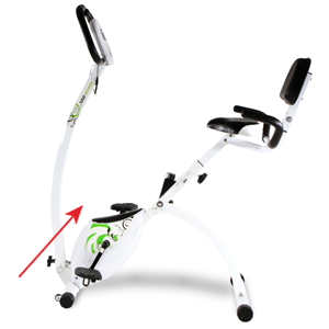 Tecnovita by BH TOTAL ACCESS - Bicicleta estática plegable: Amazon ...