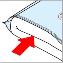 圧縮袋 使い方 つかいかた ふとん 布団
