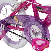 Huffy disney princess girls bike chain guard
