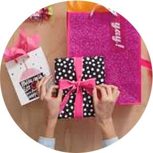 wrapping paper, gift bag, gift bags