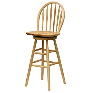 Amazon Com Winsome Wood 89630 Wagner Stool 30 Quot Natural