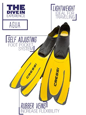 full foot long fin; long blade fin; professional fins; quality fins; scuba; scuba diving; scuba divi
