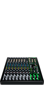 Mackie, ProFX12v3, Effects, Mixer, USB, Recording