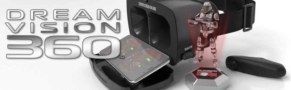 f011d8b4090 Amazon.com  Tzumi Dream Vision Pro VR Smartphone Headset – Adult ...