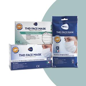 mascherine THD, mascherine chirurgiche THD, THD, THD face masks, mascherine italiane, mascherine CE