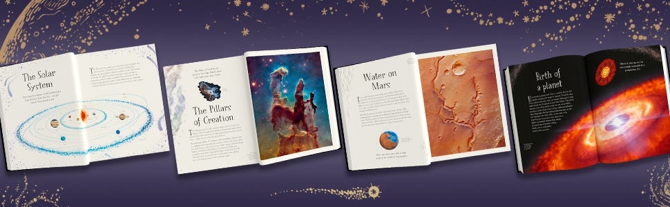 space books, children - The Mysteries Of The Universe: Discover The Best-kept Secrets Of Space's books about space, gifts for girls, gifts for boys, wonders of nature book