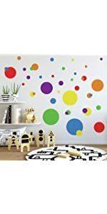 dots peel and stick wall decals, peel and stick wall decals