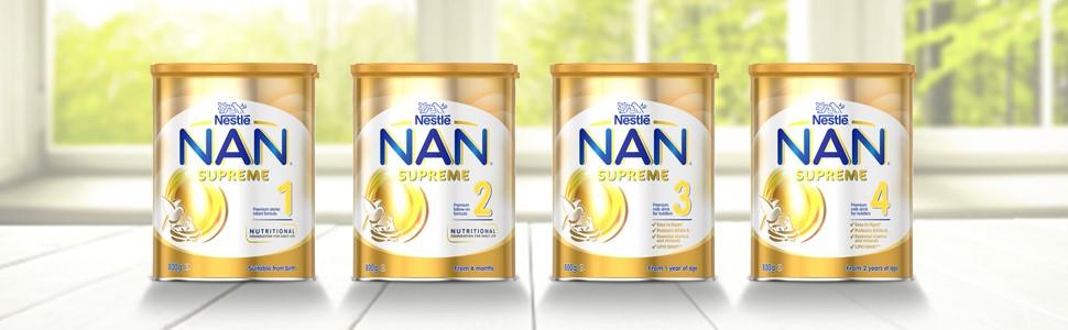 nan supreme baby formula infant toddler milk