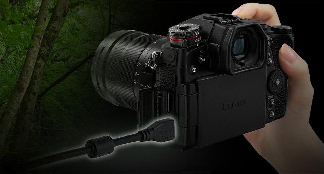 LUMIX G9 - USB power