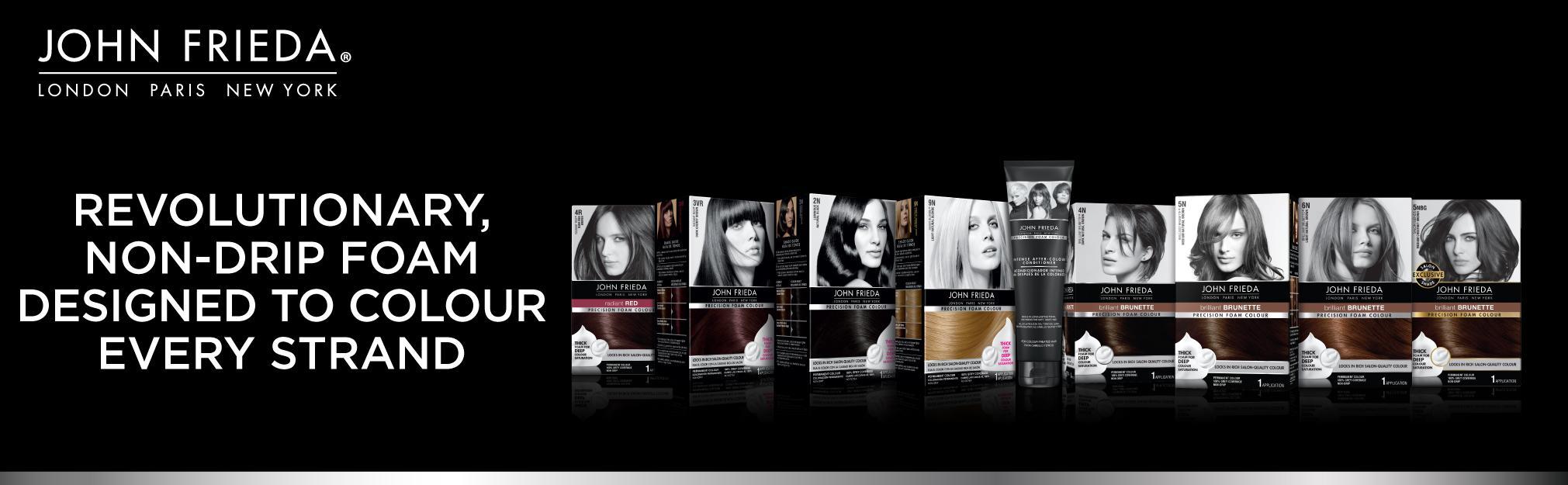 Amazon Com John Frieda Precision Foam Colour Dark