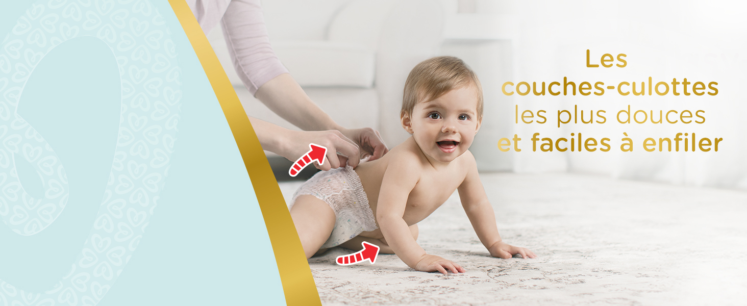 Couches-culottes Pampers Premium Protection