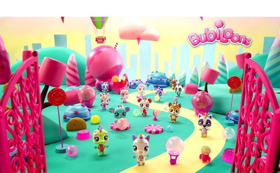 Bubiloons mini animalitos que inflan globos