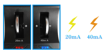 CT-ENERGY Lithium Ion 2032 Battery Charger for Coin Cell Rechargeable Batteries LIR2032 4pcs Replace CR2032 Battery