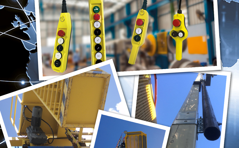pendant stations for safe operation of lifts and hoists