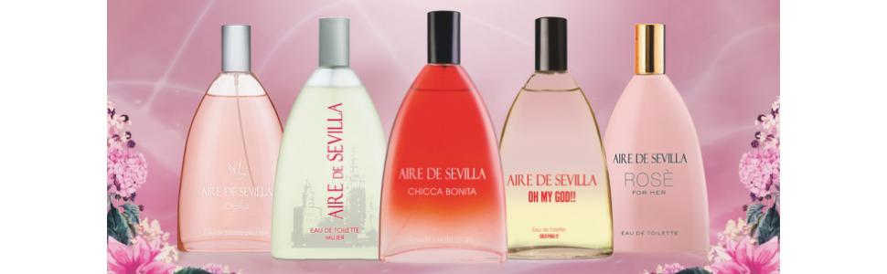 Aire de Sevilla Set de Belleza Edición Rosè - Body Milk / Eau de Toilette / Gel de baño y ducha para mujer: Amazon.es: Belleza