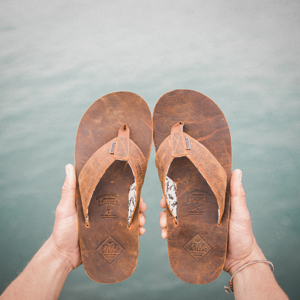 freewaters, mens sandals, mens shoes, fair trade, sustainable, leather, open country