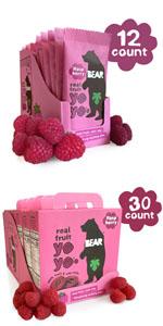 Bear fruit yoyos, Bear fruit, Bear snacks, kids snacks, children snacks, lunchbox, real fruit snacks