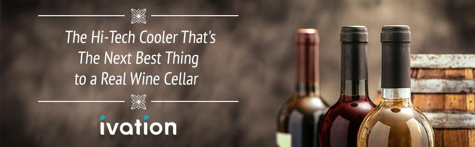 Ivation Wine Cooler A+ Header Banner