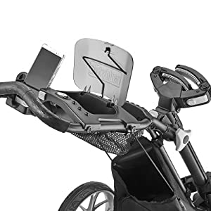 One-click button mechanism folds the cart to compact size in 2 simple steps