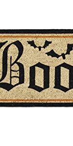 boo welcome mat, Halloween mat, holiday mat, scary welcome mat, boo welcome mat
