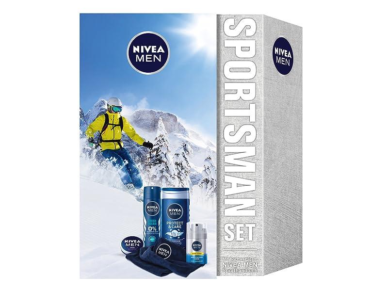 NIVEA MEN Sportsman Geschenkset, Pflegeset für Männer mit Creme ...