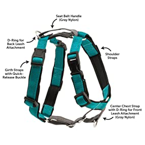 3in1 harness, easy walk harness, petsafe, premier, dog, no pull