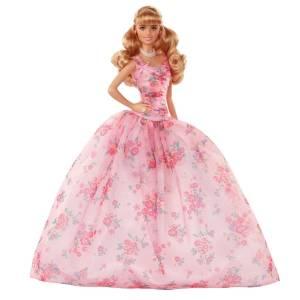 Amazon.es: Barbie Collector, Muñeca Feliz Cumpleaños rubia con ...