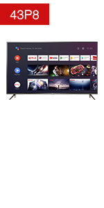TCL P8 43 inch