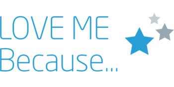 Love me because