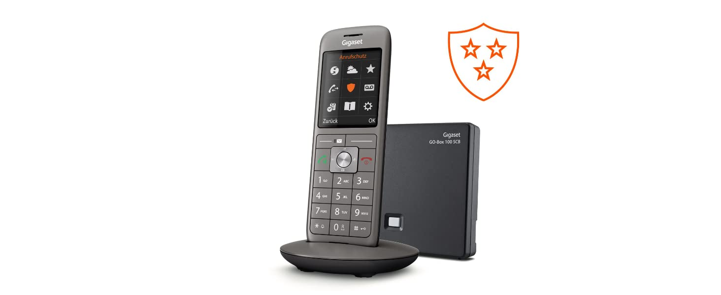 Gigaset Cl690 Scb Schnurloses Telefon Mit Elektronik