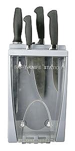knife station, plastic knife station,sanitary knife station,assembled station