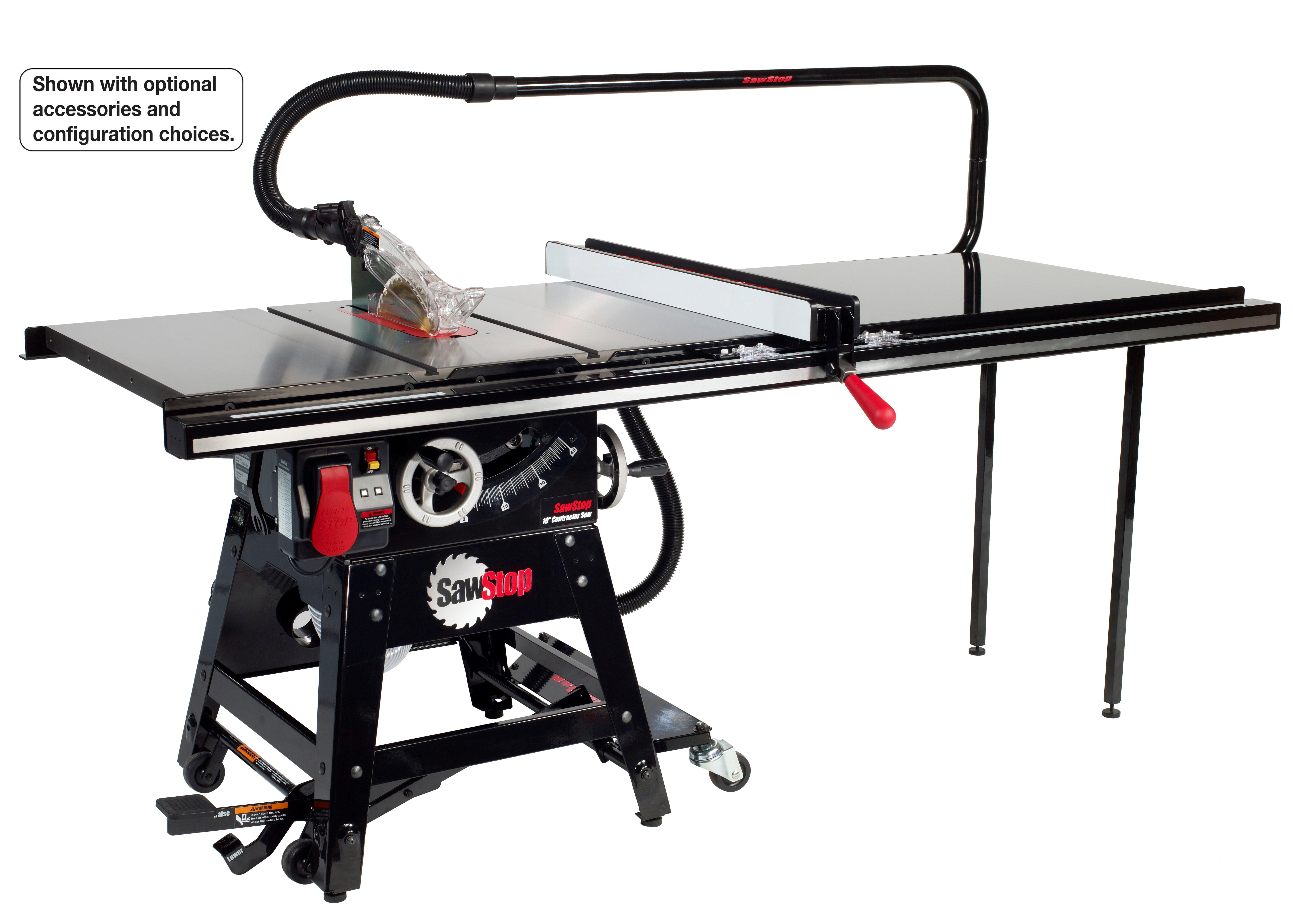 Luxury Sawstop Professional Cabinet Saw