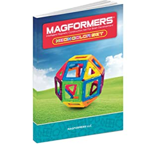 BRAND NEW MAGFORMERS 30-PIECE CREATOR MAGNETIC NEON COLOR CONSTRUCTION SET