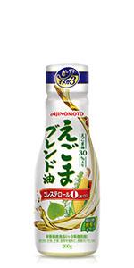 AJINOMOTO 味の素 J-オイルミルズ えごま ブレンド油 えごま油 コーン油 とうもろこし 油 オイル 健康 ヘルシー オメガ3 n-3系脂肪酸 必須脂肪酸 鮮度キープボトル デラミボトル