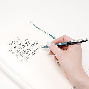 zebra sarasa grand close-up, rapid dry ink gel pen, black ink, 6 barrel colors available