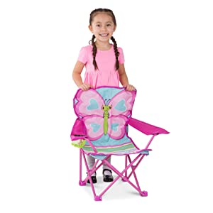 outdoor;fun;campsite;camping;travel;chair;toddler;colorful