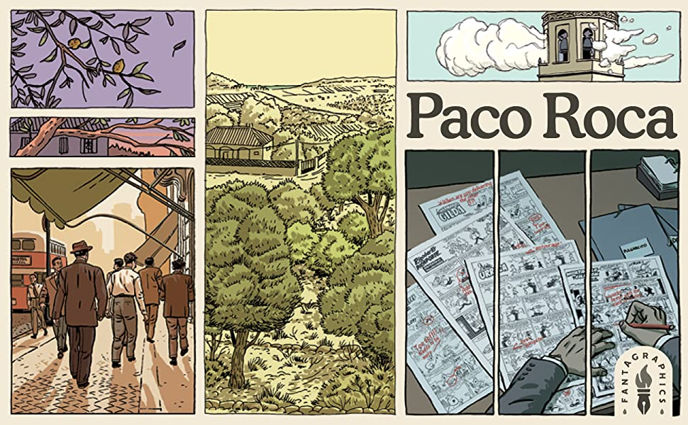 Paco Roca, Fantagraphics, Wrinkles, Winter of the Cartoonist, Twists of Fate, The House, La Casa