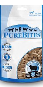 lamb; purebites; dog; treats