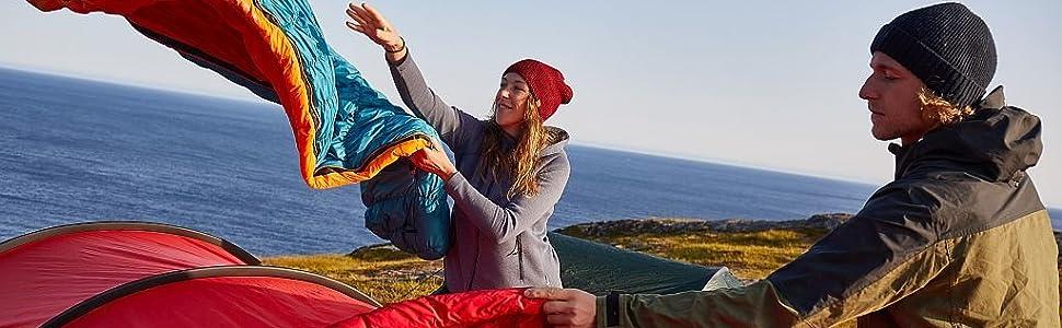 Schlafsack; Kunstfaser; Kunstfaserschlafsack; Camping; Outdoor; Deuter; Sleeping Bag