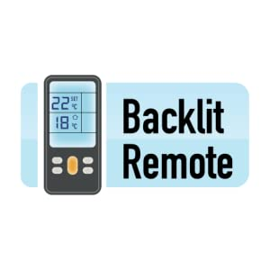Backlit remote, ac remote