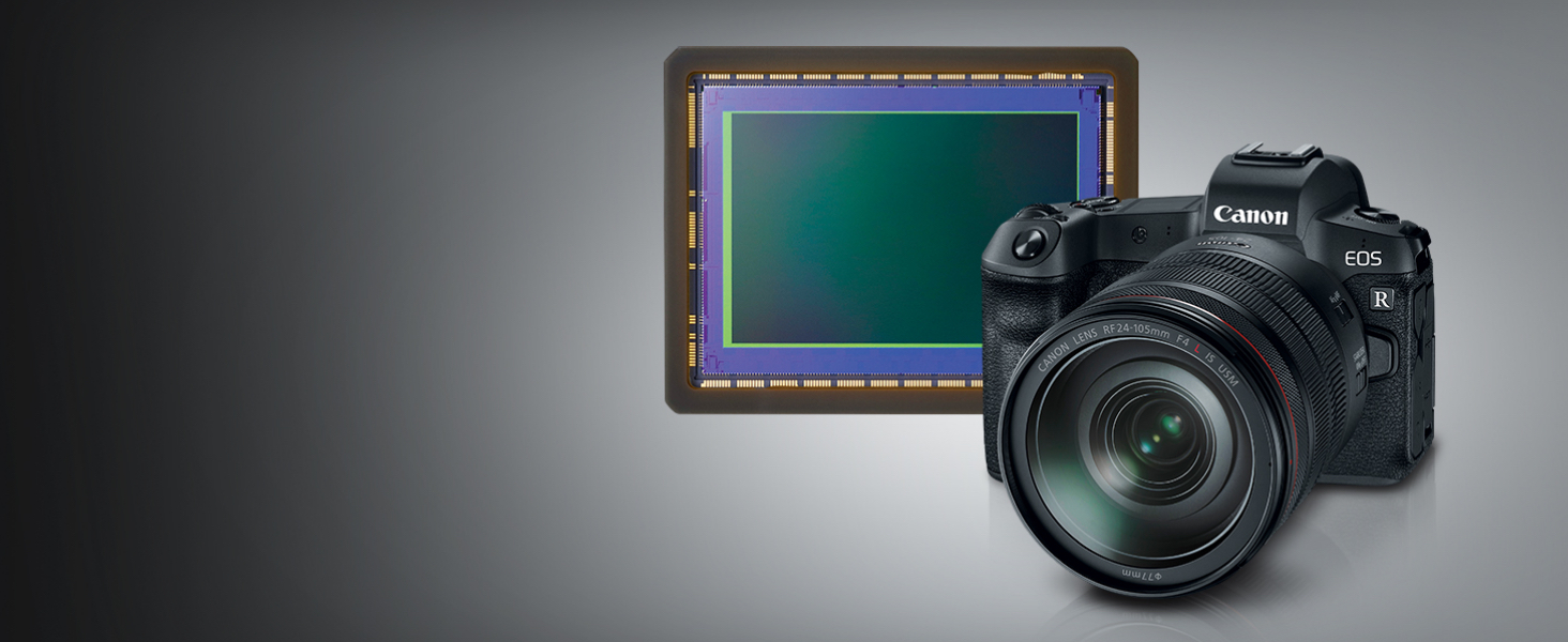 Full-frame CMOS Sensor and DIGIC 8 Image Processor