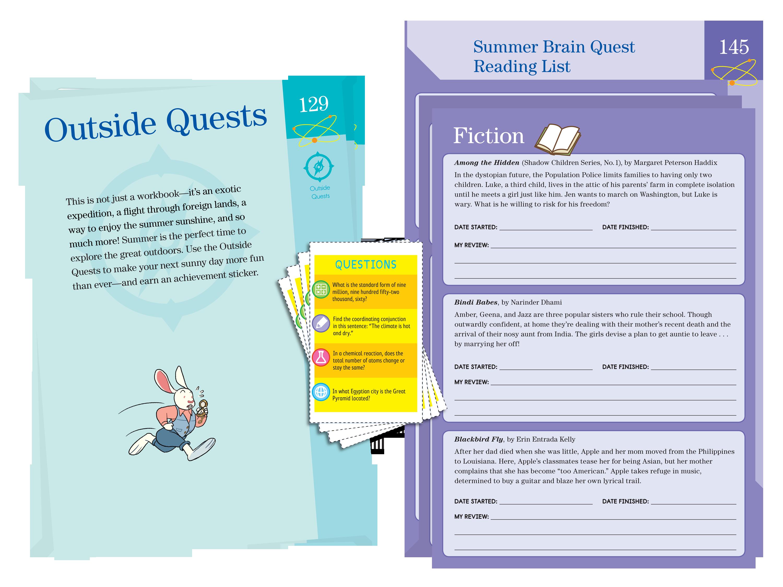 ae1434a9bf Amazon.com: Summer Brain Quest: Between Grades 5 & 6 (9780761193289 ...
