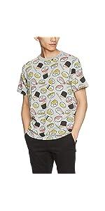 おしゅしだよ 総柄 Tシャツ