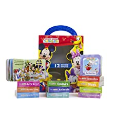 my, first, library, book,block, ,early,learning,year,old,olds,baby,babies,1,0,2,minnie,mickey,mouse