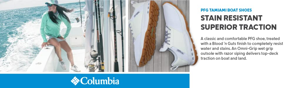 Columbia Women's PFG Tamiami Boat shoes